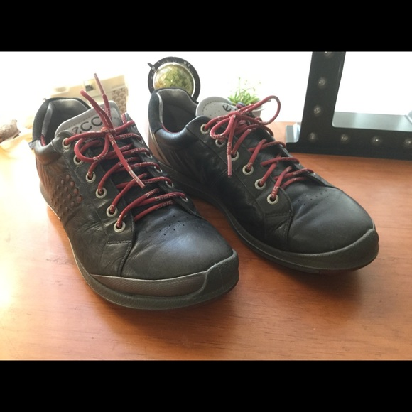 ecco yak leather shoes